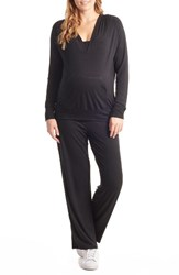 Everly Grey Women's Irene Maternity Nursing Pajamas