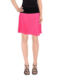 Cristinaeffe Collection Skirts Mini Skirts Women Fuchsia