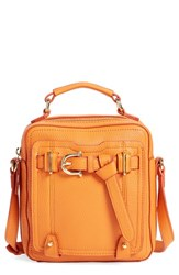 Etienne Aigner 'Filly' Crossbody Bag Orange Tangerine