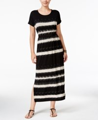 G.H. Bass And Co. Striped Maxi Dress Heather Sandy Combo