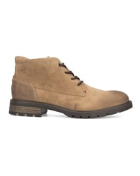 Tommy Hilfiger Tobacco Curtis Suede Wax Boots Brown