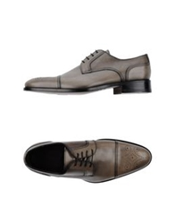 Canali Lace Up Shoes Grey