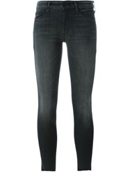 Mother 'Looker' Jeans Grey
