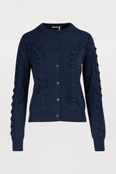 See By Chloe Cotton Cardigan Navy