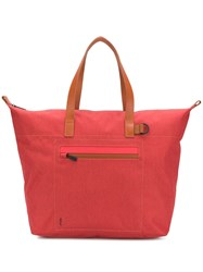 Ally Capellino Saarf Travel And Cycle Tote Red