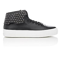 Buscemi Men's Studded 90Mm Sneakers Black Blue Black Blue