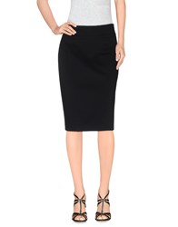 Burberry London Skirts Knee Length Skirts Women Black
