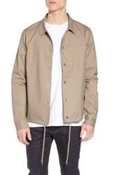 The Rail Snap Front Coach's Jacket Beige Mojave