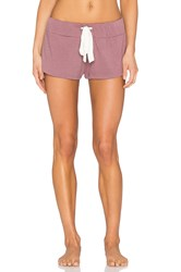 Eberjey Heather Shorts Rose