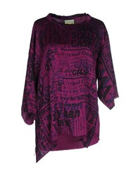 Aries Shirts Blouses Women Purple