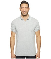 United By Blue Hudson Polo Grey Men's Clothing Gray