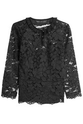 Marc By Marc Jacobs Lace Top Black