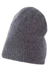 Kiomi Hat Grey Melange Mottled Grey