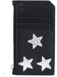 Saint Laurent 'Rider California' Zip Pouch Black