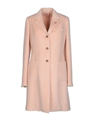 Lardini Coats And Jackets Coats Women Pink