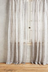Anthropologie Bette Curtain Grey