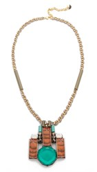 Nocturne Daniel Necklace Jade Multi