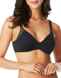 Warner's Cloud 9 Wirefree Lift Bra Rich Black