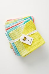 Anthropologie Cantina Dishcloth Set Assorted