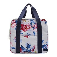 Joules Floral Cool Bag Grey Whitstable