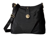 Baggallini Gold Helsinki Bag Black Handbags