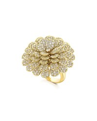 Hueb Secret Garden 18K Gold And Diamond Ring