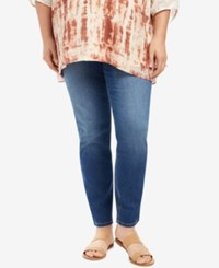 Motherhood Maternity Plus Size Medium Lake Wash Skinny Jeans