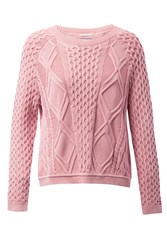 Tommy Hilfiger Cable Knit Sweater Pink