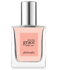 Philosophy Amazing Grace Ballet Rose Eau De Toilette 0.5 Oz. No Color