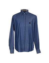 Daks London Denim Shirts Blue
