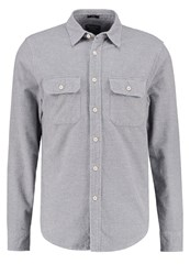 Abercrombie And Fitch Chamois Shirt Grey