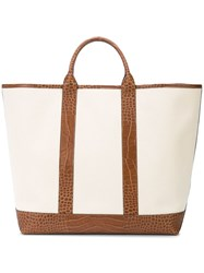 Michael Kors Collection Georgica Extra Large Tote Bag Nude And Neutrals