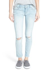 Women's Vigoss 'Thompson' Crop Skinny Jeans Light Wash