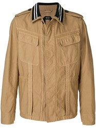 N 21 No21 Cargo Jacket Nude And Neutrals
