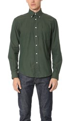 Hartford Paul Shirt Forest Green