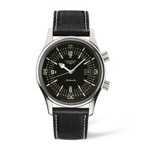 Longines Legend Diver Watch Unisex Black