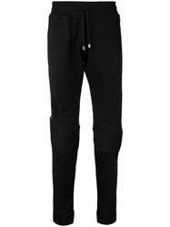 Philipp Plein Studded Track Pants Black
