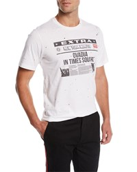 Ovadia And Sons Ny Minute Graphic T Shirt White
