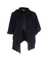 Stefano Mortari Knitwear Cardigans Women Dark Blue
