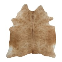 Amara Natural Cowhide Rug Light