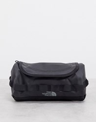 The North Face Base Camp Travel Cannister Small Wash Bag In Black