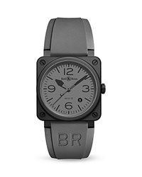 Bell And Ross Br 03 92 Commando Ceramic Watch 42Mm Gray