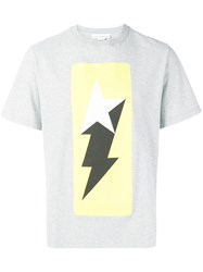 Golden Goose Deluxe Brand Lightning Bolt T Shirt Grey