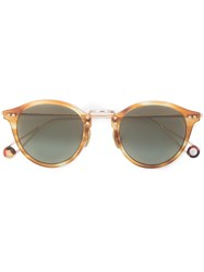 Ahlem Round Shaped Sunglasses Brown