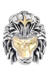 Men's Konstantino 'Minos' Lion Head Pendant