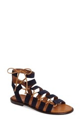 Frye Women's Blair Ghillie Sandal Navy