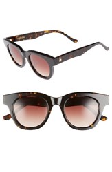 Tom Wood Women's Holly Cat Eye Sunglasses Tortoise Brown