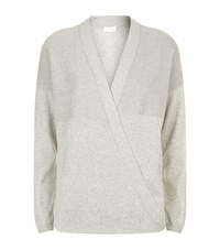Escada Sport Embellished Wrap Cardigan Female Silver