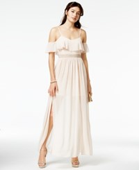 Speechless Juniors' Embellished Gown Blush