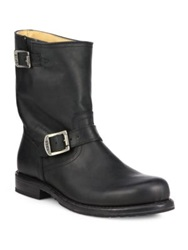 Frye Wayde Engineer Boots Black